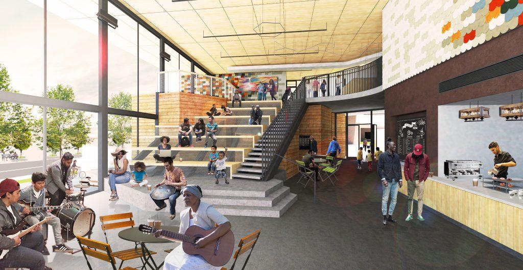 EPA Center Arts (Cafe)