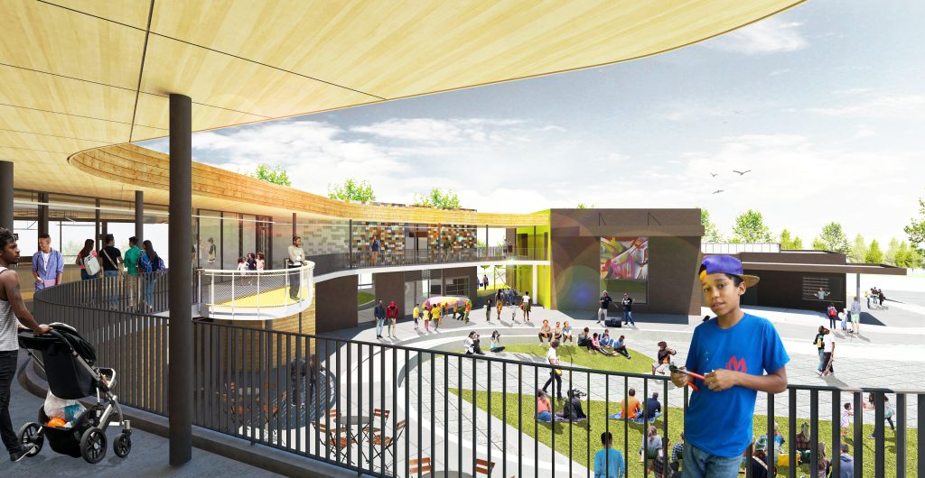 EPA Center Arts (Courtyard)