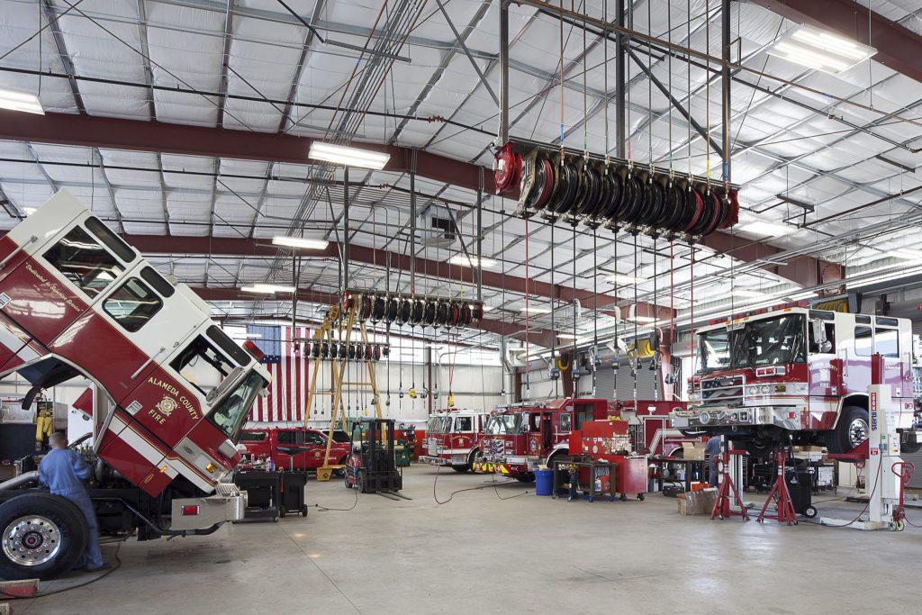 Maint. Facility Interior