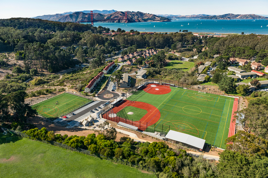 paul goode field at the presidio